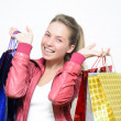 Stock Photo: From shopping