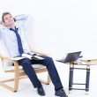 Dreaming business man at Office — Stock Photo