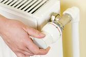 Válvula de termostato — Foto Stock