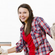 Fancy Housekeeper — Stock Photo