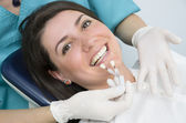 Porcelain Teeth — Stock Photo