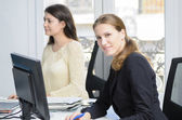 Young businesswomen — Stock Photo
