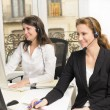 Stock Photo: Female customer service