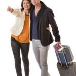 Hapyy Couple Traveling — Stock Photo #37092913