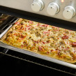 Stock Photo: Homemade Pizza