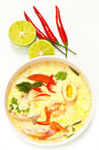 Tom Yum,Thai style spicy soup — Stock Photo