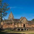 Stock Photo: Khmer art sanctuary in Thailand