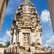 Stock Photo: Old Khmer art sanctuary in Thailand