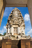 Old Khmer art sanctuary in Thailand — Stock Photo