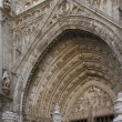 Part of the Cathedral of Toledo, Spain — Stock Photo