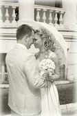 Fiancee and fiance. — Stock Photo