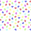 Background from hearts — Stock Photo #19517855