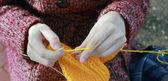 Knitting — Stockfoto
