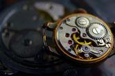 Mechanism of old clock — Stock Photo