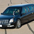 Stock Photo: President Obama's limousine