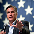 Mitt Romney appears at town hall meeting in Mesa, AZ — Stock Photo #36786479