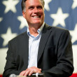 Mitt Romney appears at town hall meeting in Mesa, AZ. — Stock Photo #36786759
