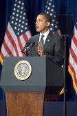 De voorzitter barack obama — Stockfoto