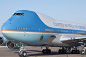 Air Force One on the tarmac — Stock Photo