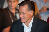Mitt Romney appears at a town hall meeting in Mesa, AZ — Stock Photo