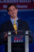 Presidential candidate Rick Santorum — Stock Photo