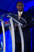 Presidential candidate Herman Cain — Stock Photo