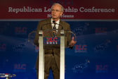 Jimmy Field speaks at Republican Leadership Conference — Stock Photo
