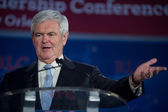 Former Speaker of the House Newt Gingrich — Стоковое фото