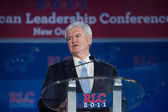 Former Speaker of the House Newt Gingrich — Stockfoto