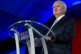 Former Speaker of the House Newt Gingrich — Stock fotografie