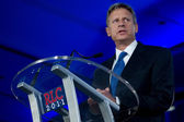 Former Governor Gary Johnson (R - New Mexico) — Foto Stock