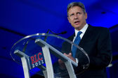 Former Governor Gary Johnson (R - New Mexico) — 图库照片