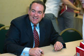 Former Governor Mike Huckabee — Stock Photo