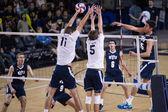 Ncaa volleyboll: byu vs uci — Stockfoto