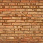 风化染色旧砖的墙体背景 — 图库照片 #12134676