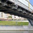 Stock Photo: Bridge in Moscow