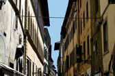 Italian Alley Town Architecture — Stock Photo