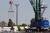 Crane Loading 2 — Stock Photo