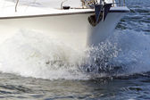 Speeding Powerboat — Stock Photo