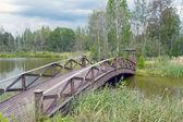 Hölzerne Brücke 1 — Stockfoto
