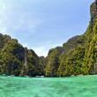 Thailand, Krabi, Ko Phi-Phi Leh, - Stock Photo