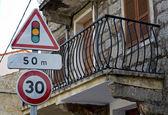 Balcony of Corsica — Stock Photo