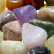 Stock Photo: Crystal gemstones color spectrum