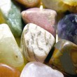 Stock Photo: Crystal gemstones color spectrum 3