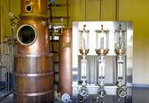 Rum distillery — Stock Photo