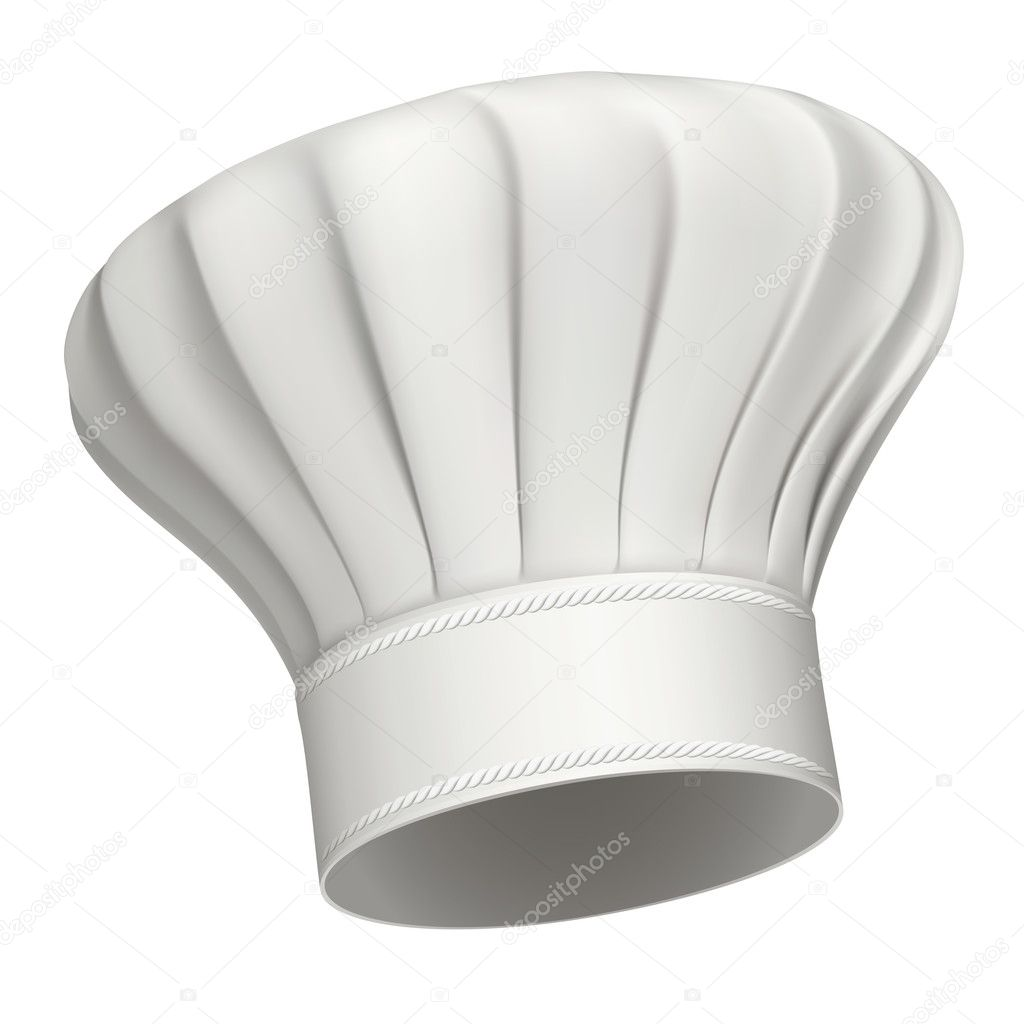 Chef Hat Icon Vector Chef Hat — Vector by Jocky