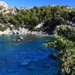 Anthony Quinn Bay Rhodes Greece — Stock Photo