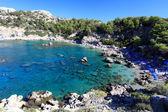 Anthony Quinn Bay Rhodes Greece — Stock Photo