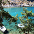 Emerald waters in Greece — Zdjęcie stockowe #12825844