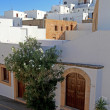 Lindos Streets and Passageways - Foto Stock